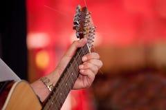 Giocatore di chitarra Fotografia Stock