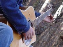 Giocatore di chitarra Immagine Stock Libera da Diritti