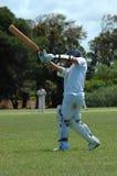 Giocatore di cricket Immagine Stock