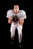 Giocatore di football americano fotografia stock
