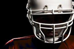 Giocatore di football americano immagini stock