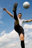 Giocatore di football americano 3 fotografia stock