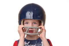Giocatore di football americano Immagine Stock