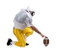 Giocatore di football americano Immagini Stock Libere da Diritti
