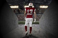 Giocatore di football americano immagine stock libera da diritti