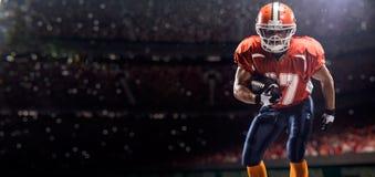 Giocatore di football americano di Americam Fotografia Stock Libera da Diritti