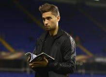 Giocatore di football americano di Borussia Dortmund Immagini Stock Libere da Diritti