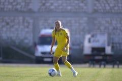 Giocatore di football americano femminile svedese - Linda Sembrant Immagini Stock Libere da Diritti