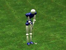 Giocatore di golf illustrazione di stock