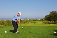 Giocatore di golf #64 Fotografia Stock Libera da Diritti