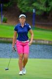 Giocatore di golf di 18 anni 2016 di Brooke Henderson LPGA Immagine Stock Libera da Diritti