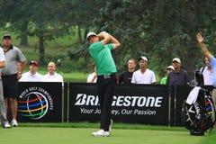 Giocatore di golf di Keegan Bradley fotografie stock