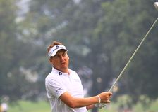 Giocatore di golf inglese Ian Poulter Fotografia Stock Libera da Diritti