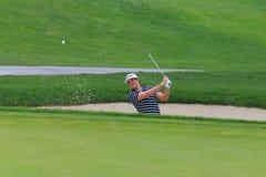 Giocatore di golf Keegan Bradley immagine stock