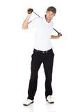 Giocatore di golf professionale Immagini Stock