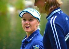 Giocatore di golf professionale Brooke Henderson Fotografia Stock Libera da Diritti
