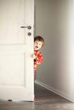 Giocatore di Hide-and-seek Fotografia Stock Libera da Diritti