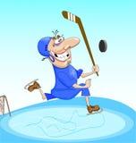 Hockey illustrazione vettoriale