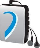 Giocatore di musica elettronica di vecchio stile (walkman) Immagine Stock