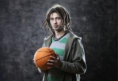 Giocatore di pallacanestro immagine stock