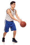 Giocatore di pallacanestro Immagini Stock
