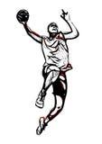 Giocatore di pallacanestro 3 royalty illustrazione gratis