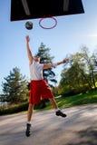 Giocatore di pallacanestro Fotografia Stock