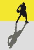 Giocatore di pallacanestro Immagine Stock Libera da Diritti