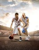 Giocatore di pallacanestro nell'azione Immagini Stock