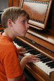 Giocatore di piano fotografie stock libere da diritti