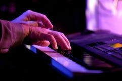 Giocatore di piano Fotografia Stock Libera da Diritti