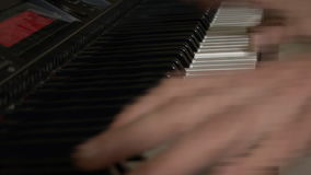 Giocatore di piano stock footage