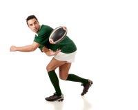 Giocatore di rugby Fotografie Stock Libere da Diritti