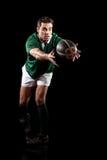 Giocatore di rugby immagine stock