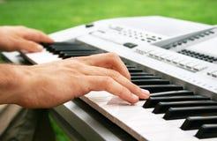 Giocatore di tastiere Immagine Stock