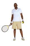 Giocatore di tennis Fotografie Stock Libere da Diritti