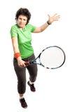 Giocatore di tennis Fotografia Stock
