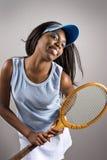 Giocatore di tennis Immagini Stock