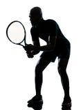 Giocatore di tennis dell'uomo Immagini Stock