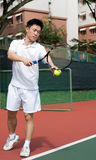Giocatore di tennis di Aisan Immagini Stock