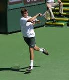 Giocatore di tennis professionale. Immagini Stock