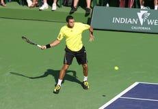 Giocatore di tennis professionale. Fotografie Stock