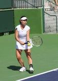 Giocatore di tennis professionale. Fotografia Stock