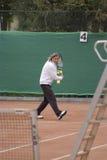 Giocatore di tennis professionale, Ilie Nastase Fotografie Stock