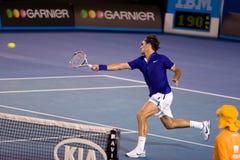 Giocatore di tennis Roger Federer Fotografie Stock