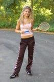 Giocatore di tennis sexy immagine stock libera da diritti