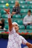 Giocatore di tennis spagnolo Feleciano Lopez Fotografie Stock Libere da Diritti
