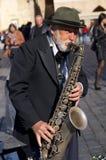 Giocatore di tromba fotografie stock