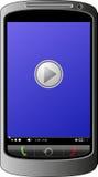 Giocatore mobile Immagini Stock