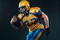 Giocatore offensivo di football americano, NFL Fotografie Stock